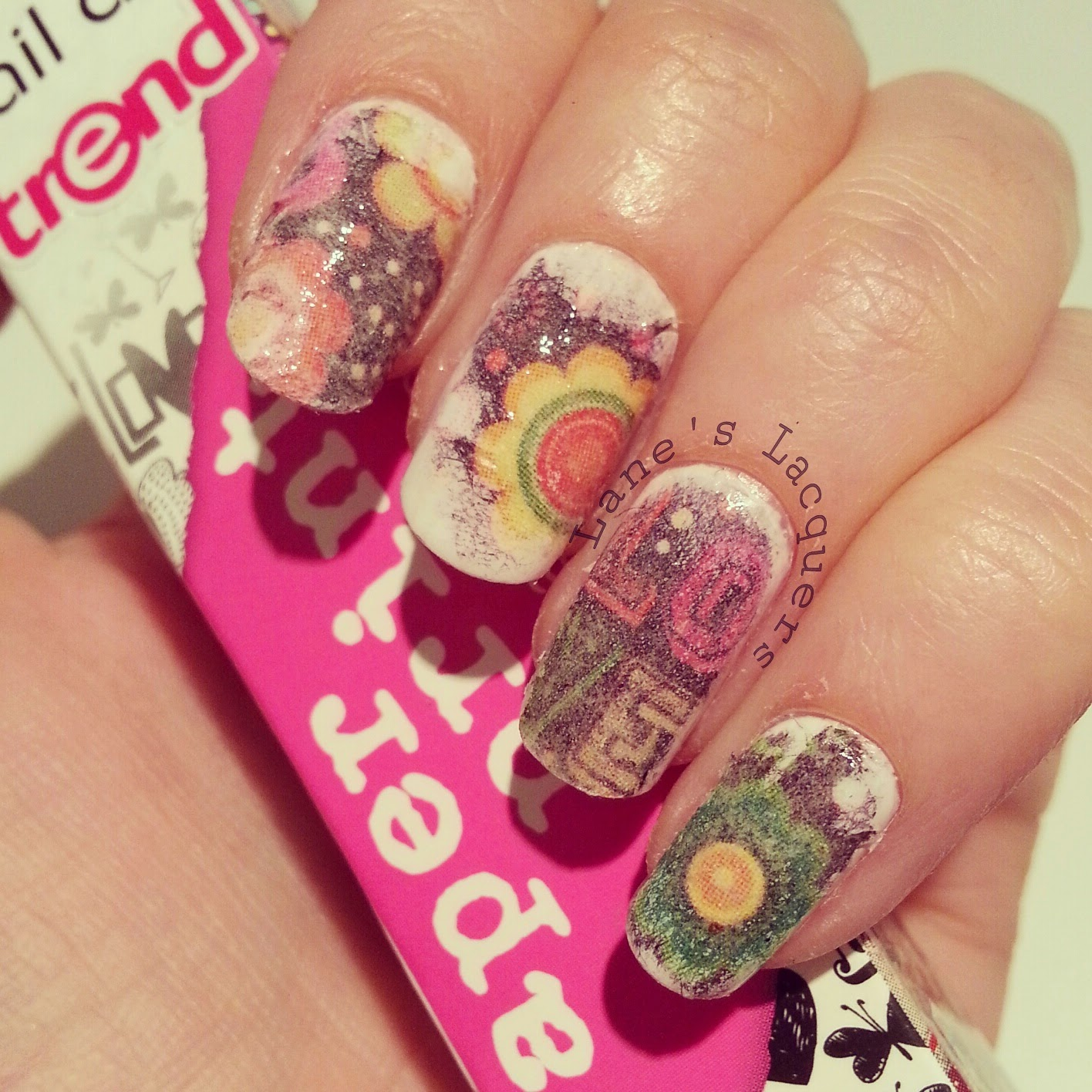 60s nail designs beautify themselves with sweet nails 60s nails art prinsesfo Image collections