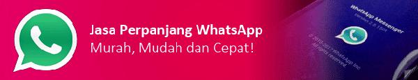 Jasa Perpanjang WhatsApp Murah di Malang