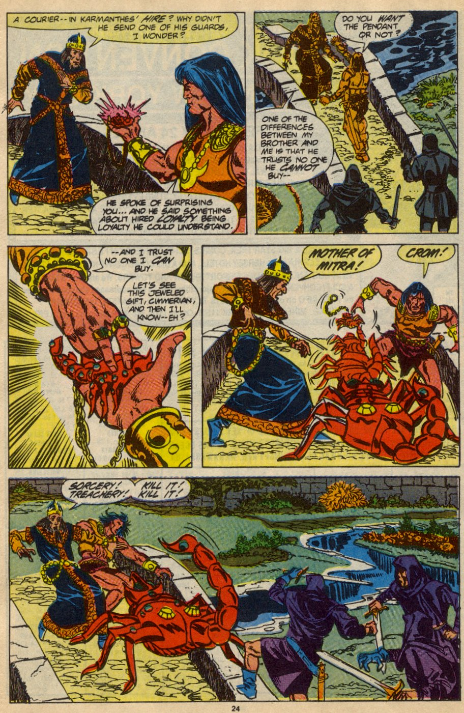 Conan the Barbarian (1970) Issue #230 #242 - English 19