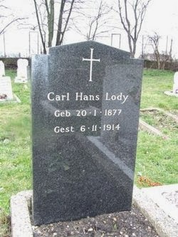 Gravestone of Carl Hans Lody, East London Cemetery, Plaistow.