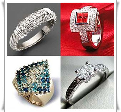 Pave Diamond Rings Pave Setting Engagement Rings