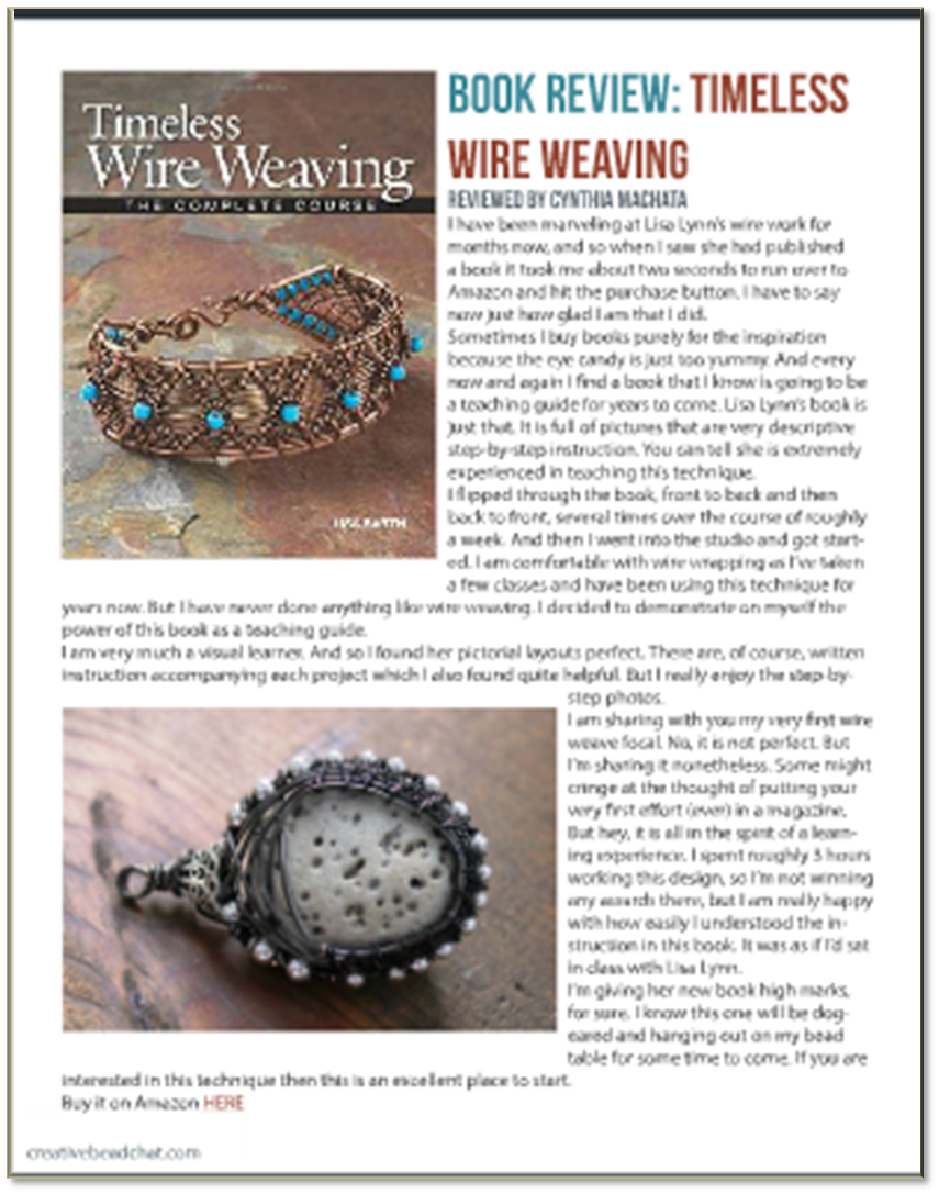Antiquity Travelers: Book Review :: Wire Weaving