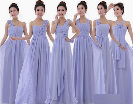 2014 New Release Six-Design Chiffon Bridesmaids Dress