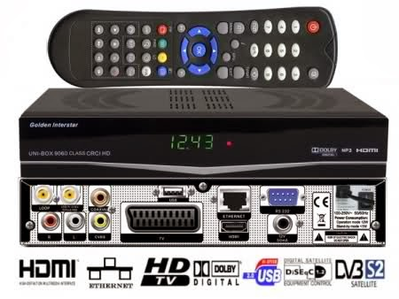 Golden Media UNI-BOX 9060 CRCI Class HD, Receiver Software, Loader