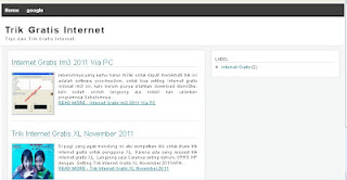Download Template SEO Friendly blogspot