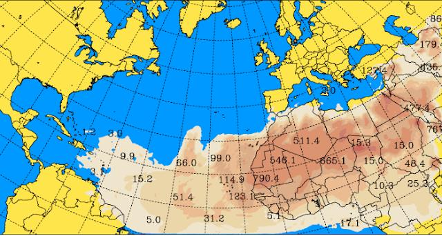 La calima vuelve a Canarias en febrero 2016
