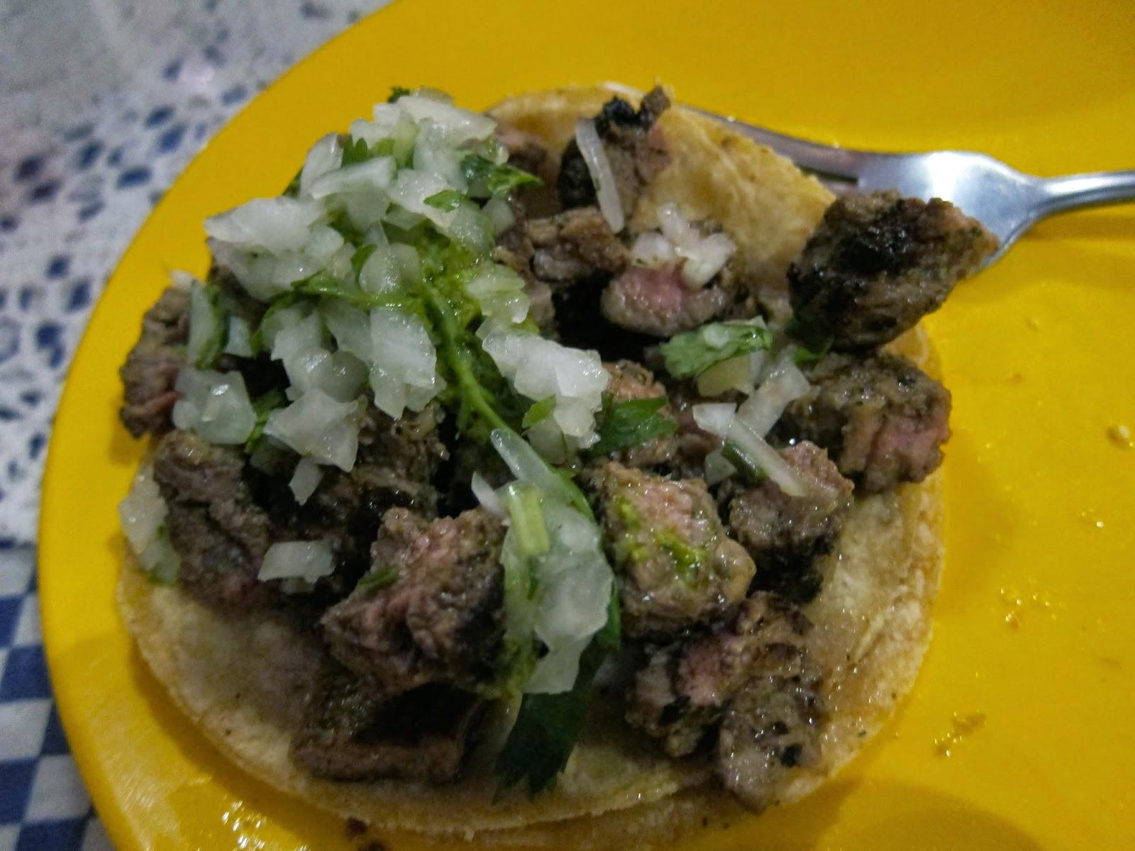 beef taco la tortilleria