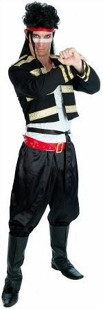 New Romantic 80s Costume