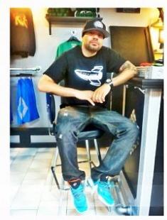 The Sneaker Stop  DJ Envy rocking the Penny V