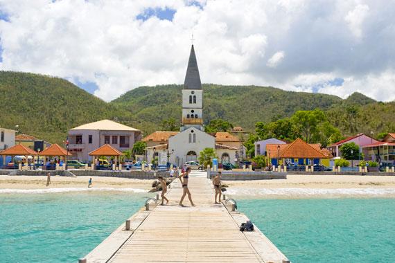 Martinique - les Anses d'Arlet - eglise avant restauration