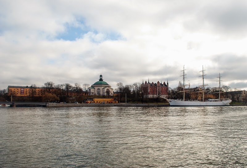 stockholm and river view