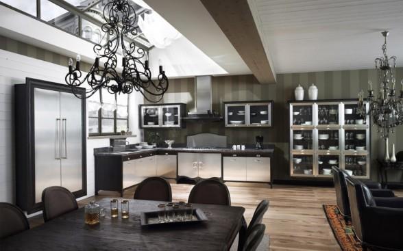 Decoracion de interiores decoracion de cocinas tipo country vaqueros for Marchi group cucine