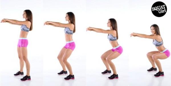 Squat Cara Mudah Mengecilkan Paha Besar dengan Latihan Ringan