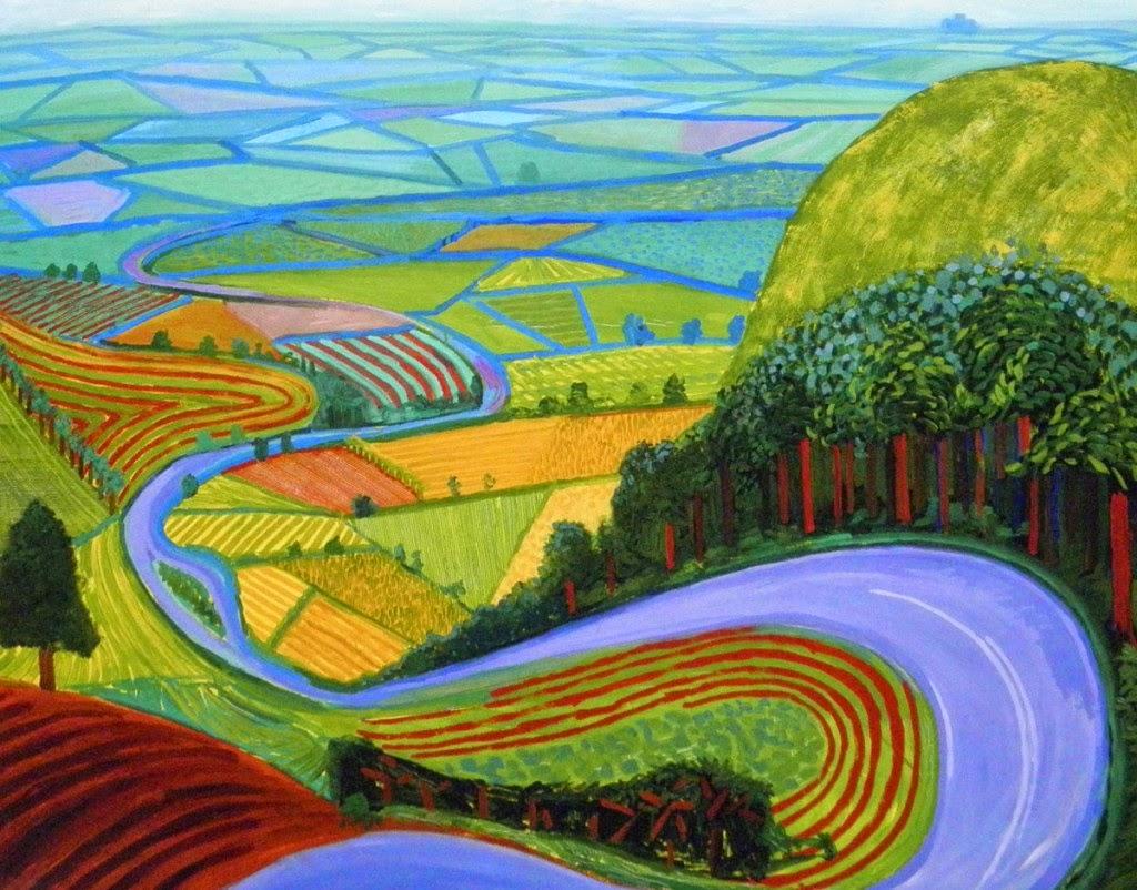 mini matisse hockney landscapes
