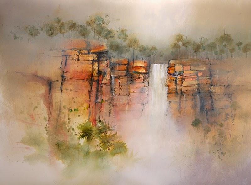 John Lovett painting