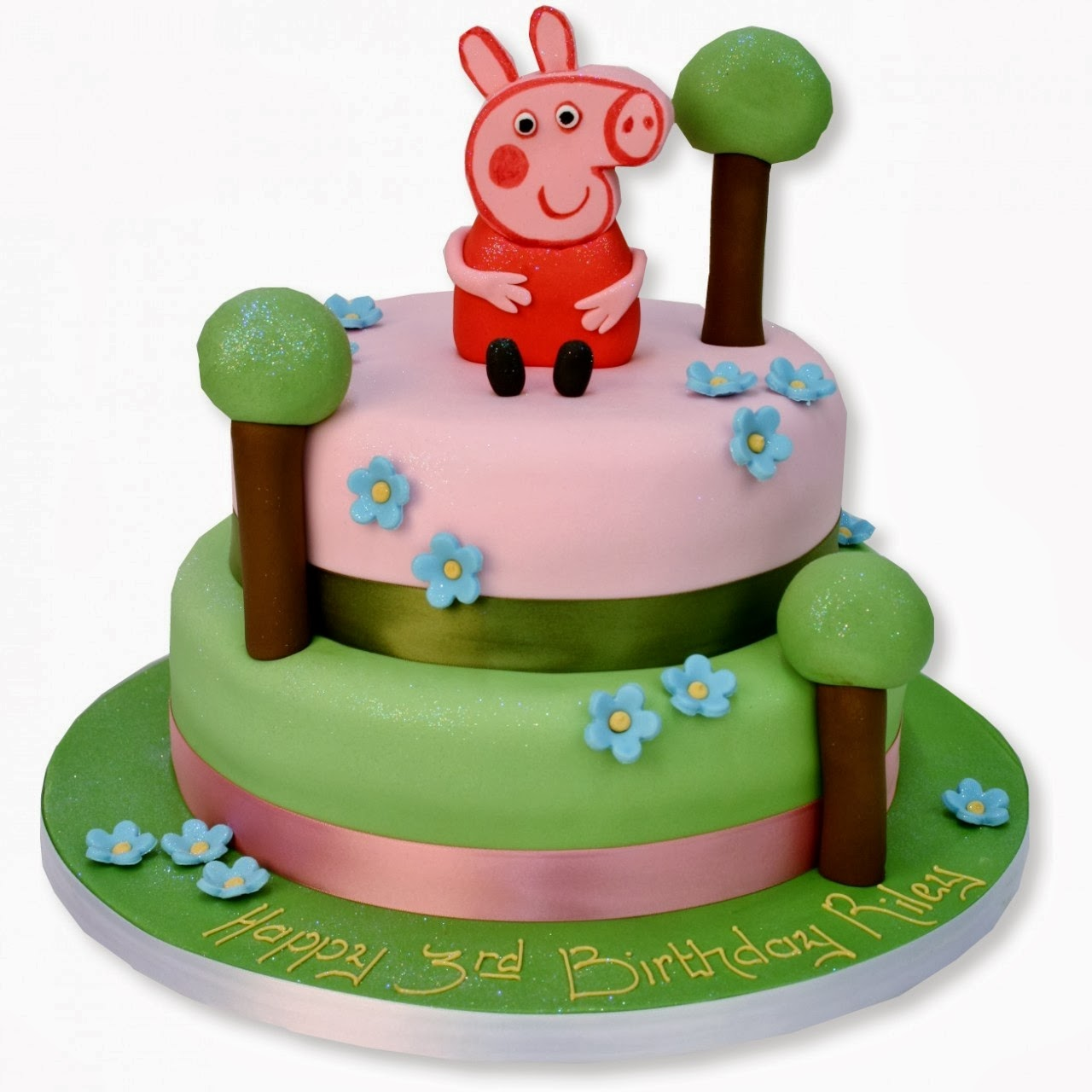Tortas Peppa Pig, parte 1