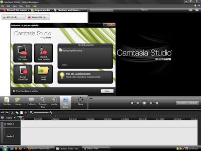 программа Camtasia Studio для создания видео уроков, видеозапись и редактирование видео