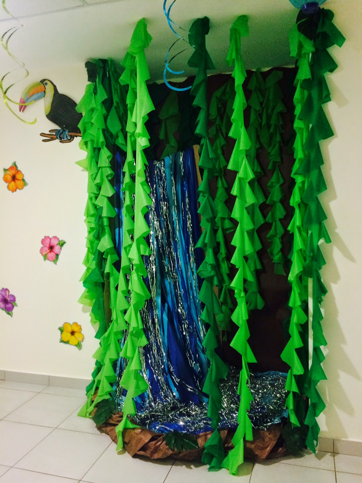 Rainforest Classroom Decoration Ideas ~ The charming classroom island jungle theme