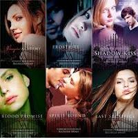Descarga Saga completa de Vampire Academy