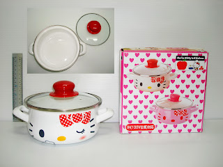 Hello Kitty kitchen cooking pot