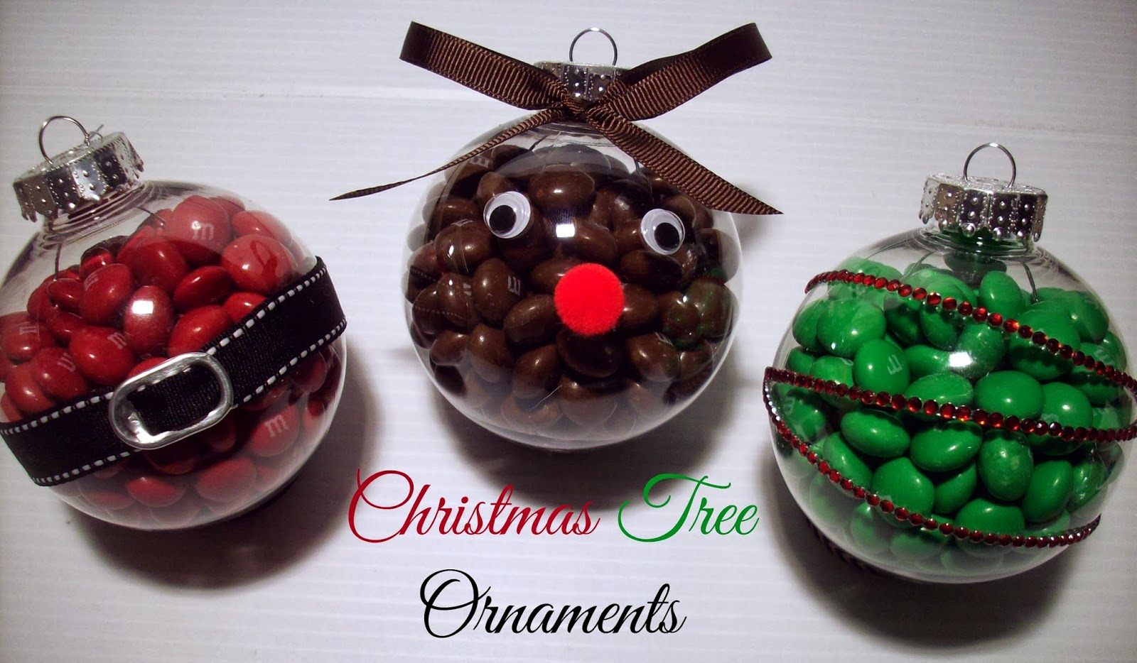 Decorating Ideas > Christmas Ornament Craft With M&Ms  Summer Scraps ~ 174913_Christmas Ornaments Ideas Craft