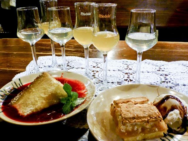 Cata de vodka y postres, Restaurante Morskie Oko, Cracovia