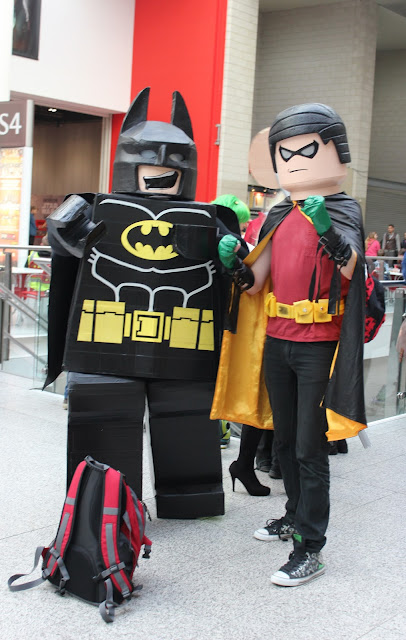 Comic Con Cosplay - Batman and Robin
