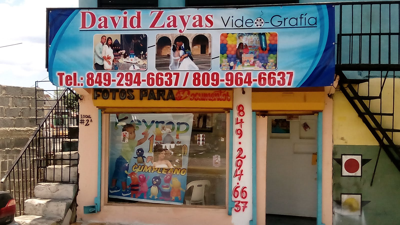 DAVID ZAYAS VIDEO GRAFIC