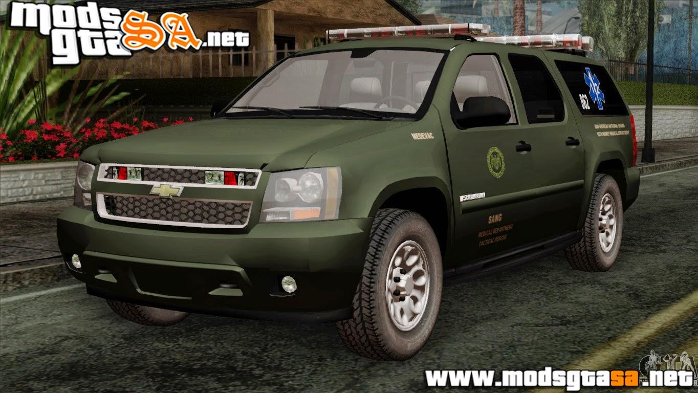 SA - Chevrolet Suburban Guarda Nacional MedEvac