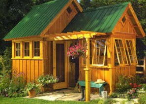 Building A garden sheds At A Smaller Budget
