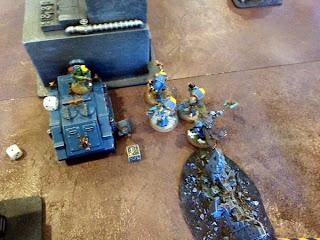 40k SW+IK vs Squat - objective 1 secure