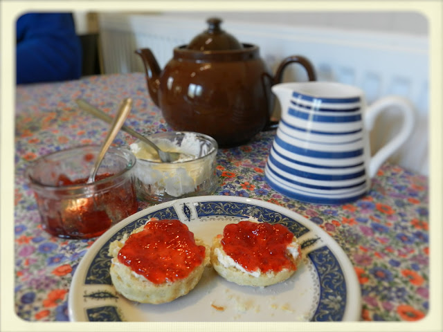 Cream Tea Queen afternoon tea
