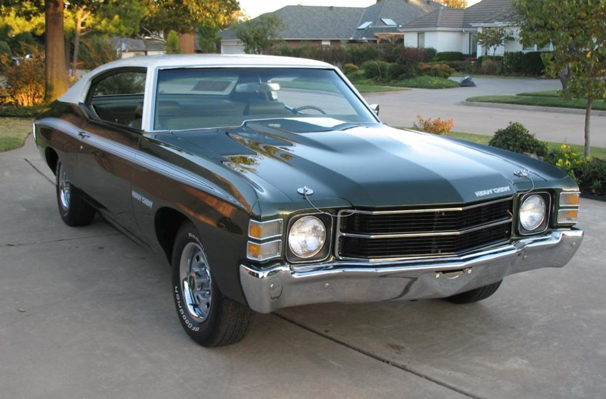 1972 Heavy Chevy Road Test | phscollectorcarworld