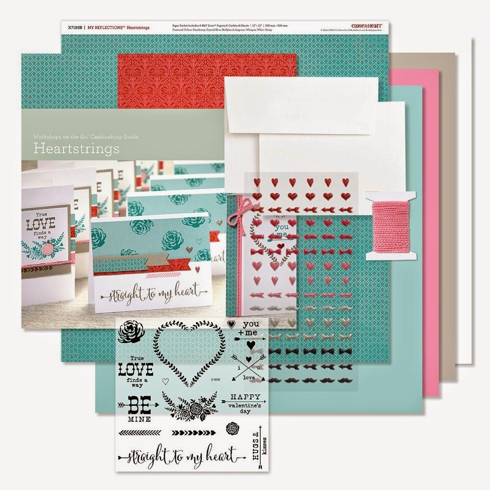 Workshops on the Go® Heartstrings Cardmaking Kit
