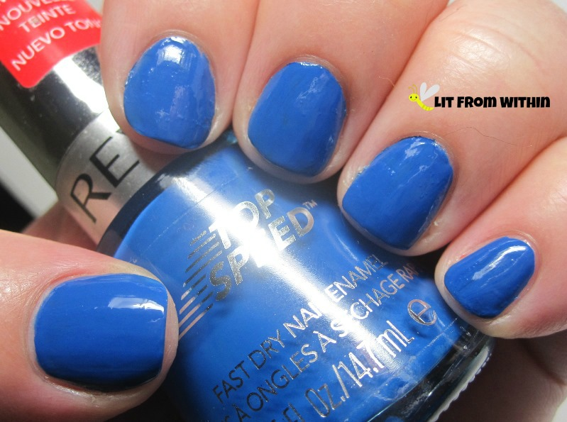 Revlon Superstitious - a gorgeous marine blue!