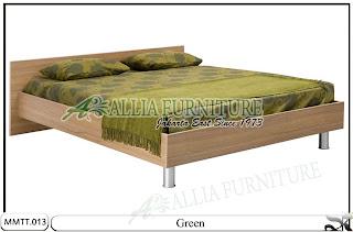 Tempat Tidur Minimalis Green Natural