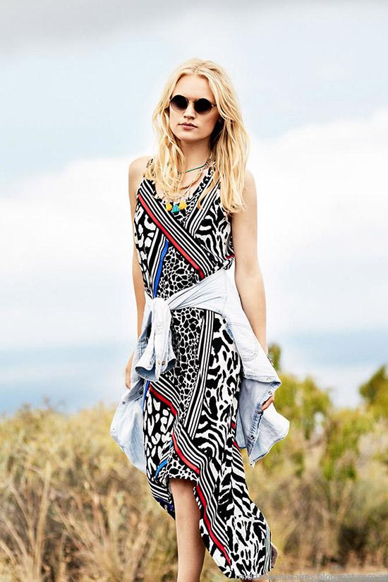 Vestidos primavera verano 2015 India Style. Moda primavera verano 2015 India Style vestidos.