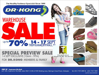 Dr.Kong Footwear Warehouse Sale