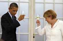 POTUS Honored By Chancellor Merkel