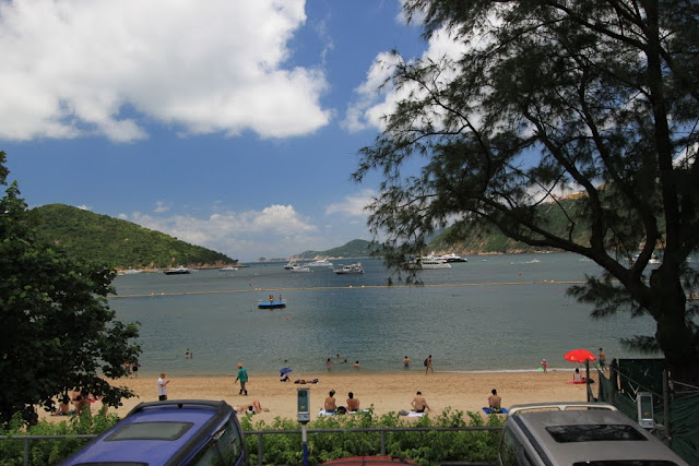 Popular beach among the locals and tourists which is also the main scene location for typical TVB HK dramas in Stanley, Hong Kong