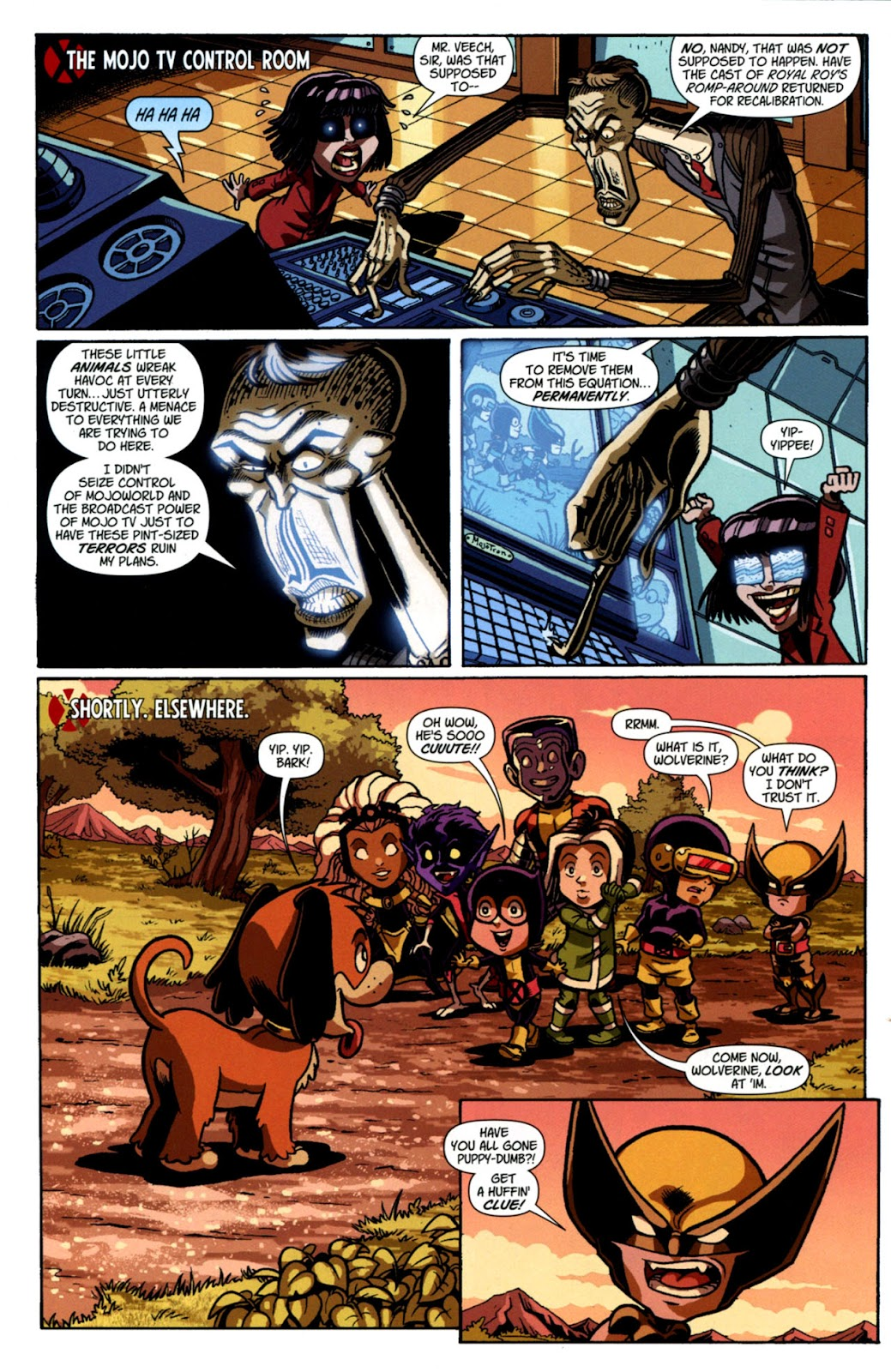 Read online X-Babies comic -  Issue #3 - 5