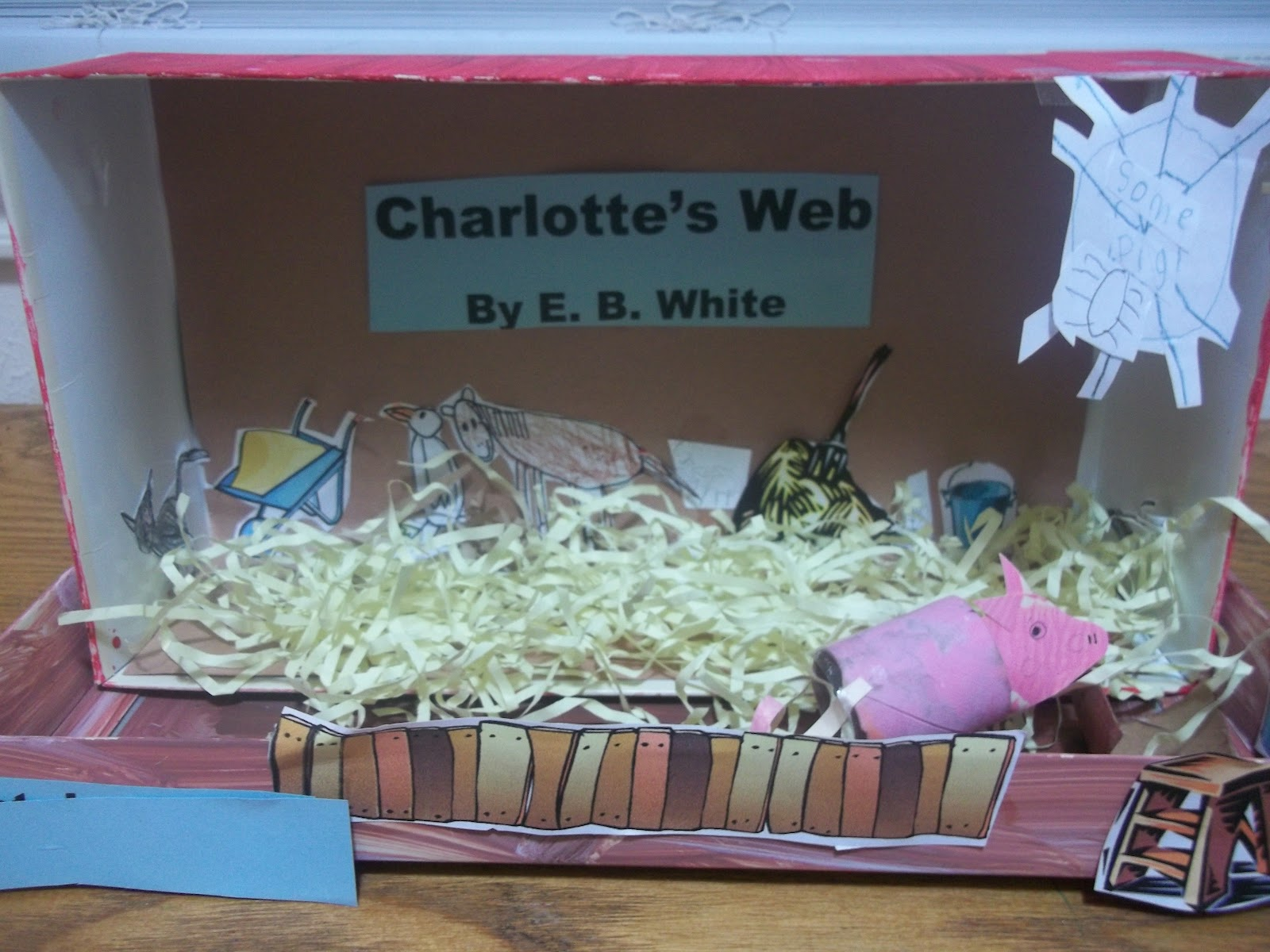 good book report charlottes web Immediately download the charlotte's web summary, chapter-by-chapter analysis, book notes, essays, quotes, character descriptions, lesson plans, and more - everything you need for studying or teaching charlotte's web.