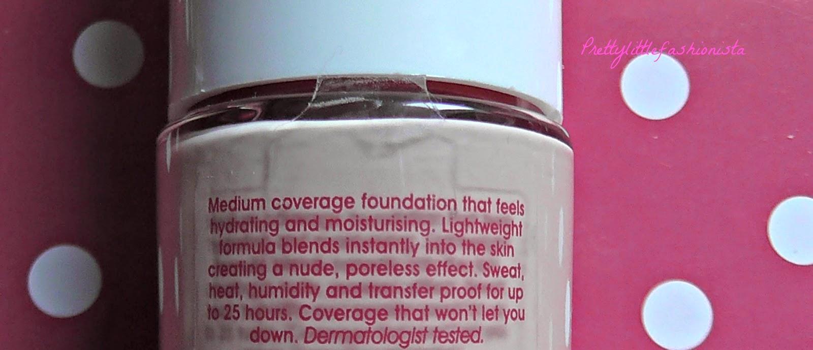 Rimmel Lasting Finish Nude 25 Hour Foundation