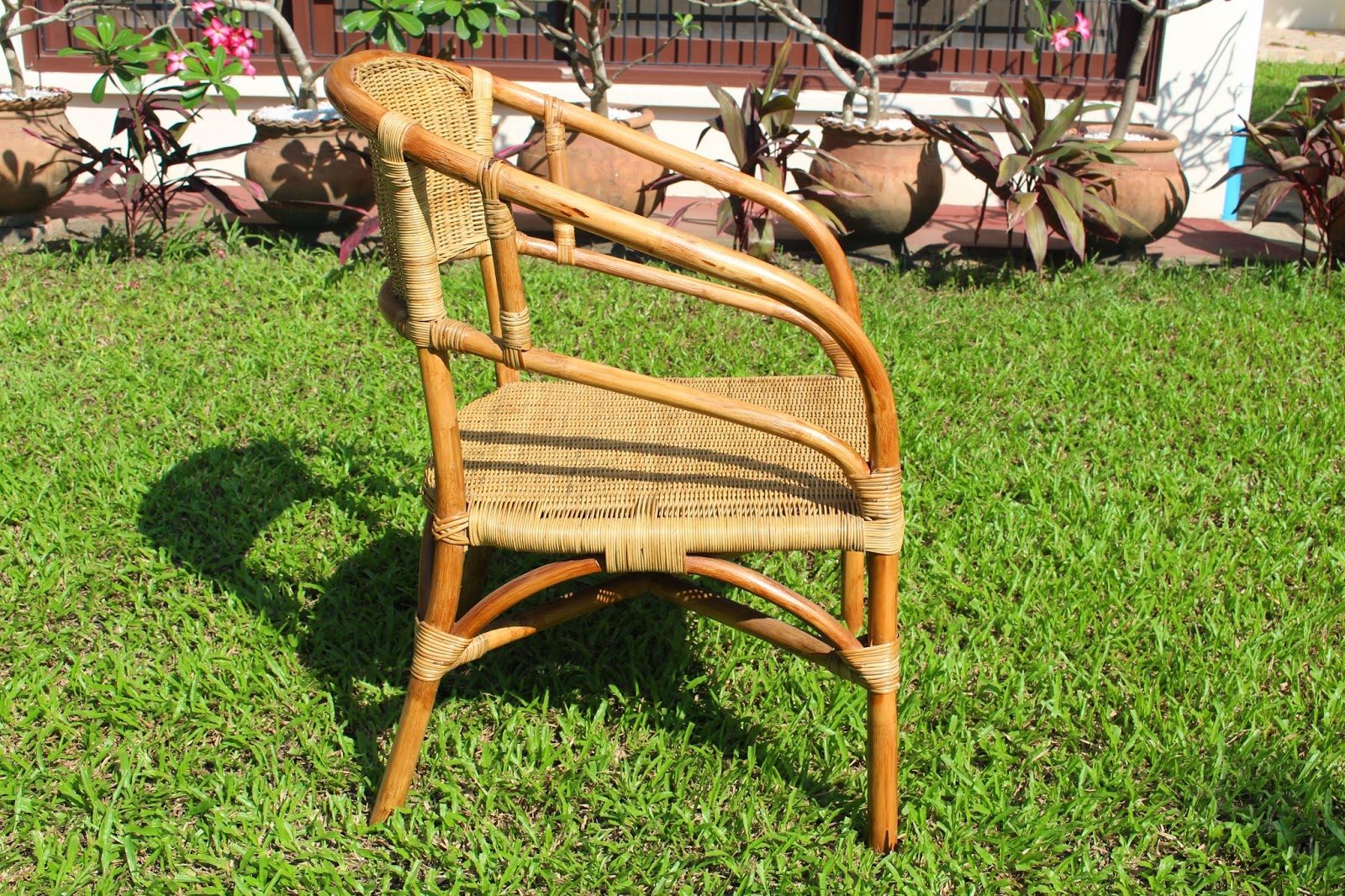 My life in myanmar discover the teak and rattan furniture for Furniture yangon