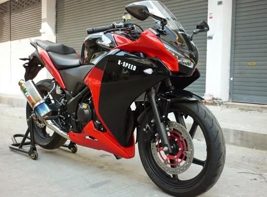 Perubahan Honda CBR250R Oke