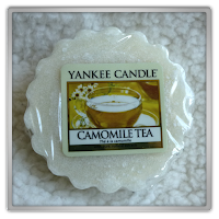 Yankee Candle Camomile tea