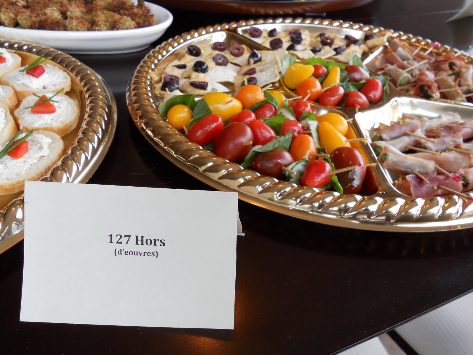 The Polymouth 127 Hors D Oeuvres Dish Made For 127 Hours For The 2011 Oscar Party