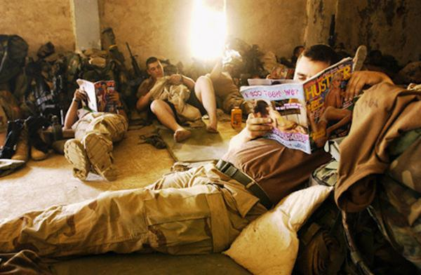 Revistas para adultos será banido das lojas militares