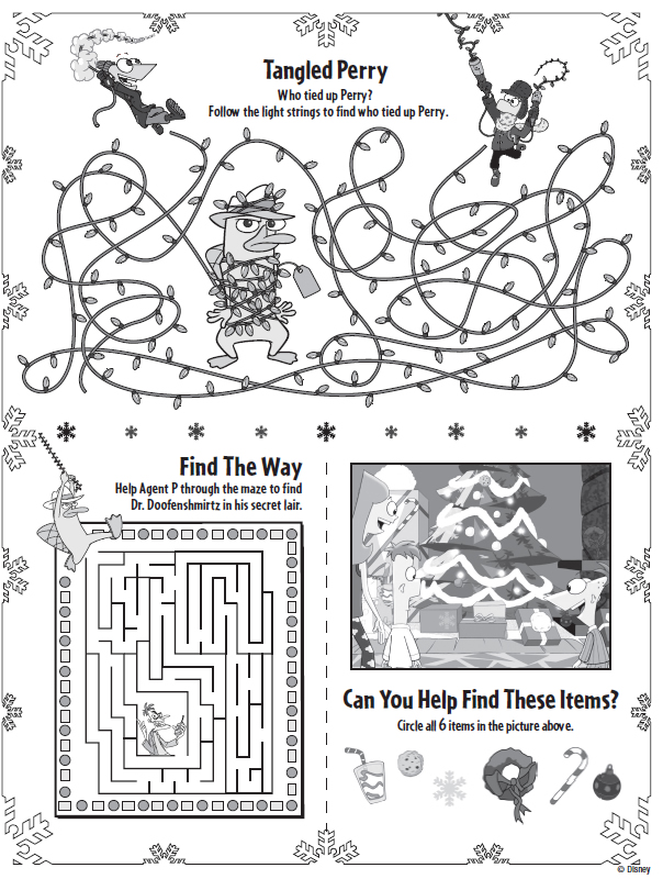 It is a photo of Dynamite Printable Christmas Activity Sheets