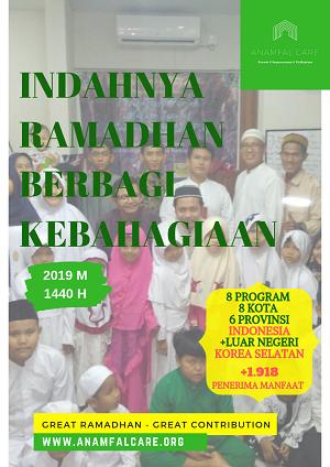 Indahnya Ramadhan Berbagi Kebahagiaan